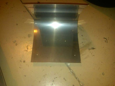 Make Holes and Attach Trough Holder