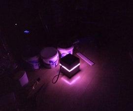 Concrete Cube Low Power Night Light