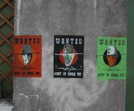 Stencil key set - 7 colors