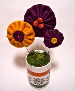 Yo-yo Flower Pot