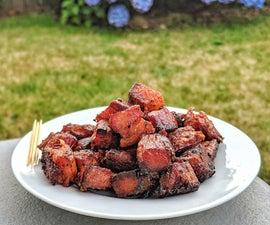 Pork Belly 'Bacon' Burnt Ends