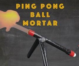 Ping Pong Ball Mortar