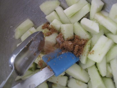 Making the Apple Filling