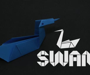How to Make an Origami Swan (For Beginners): by OrigamiArtists