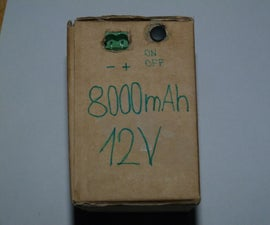 DIY Homemade Li-Pol box 11.1-12V 8000mAh
