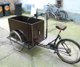 how to build a cargo bike