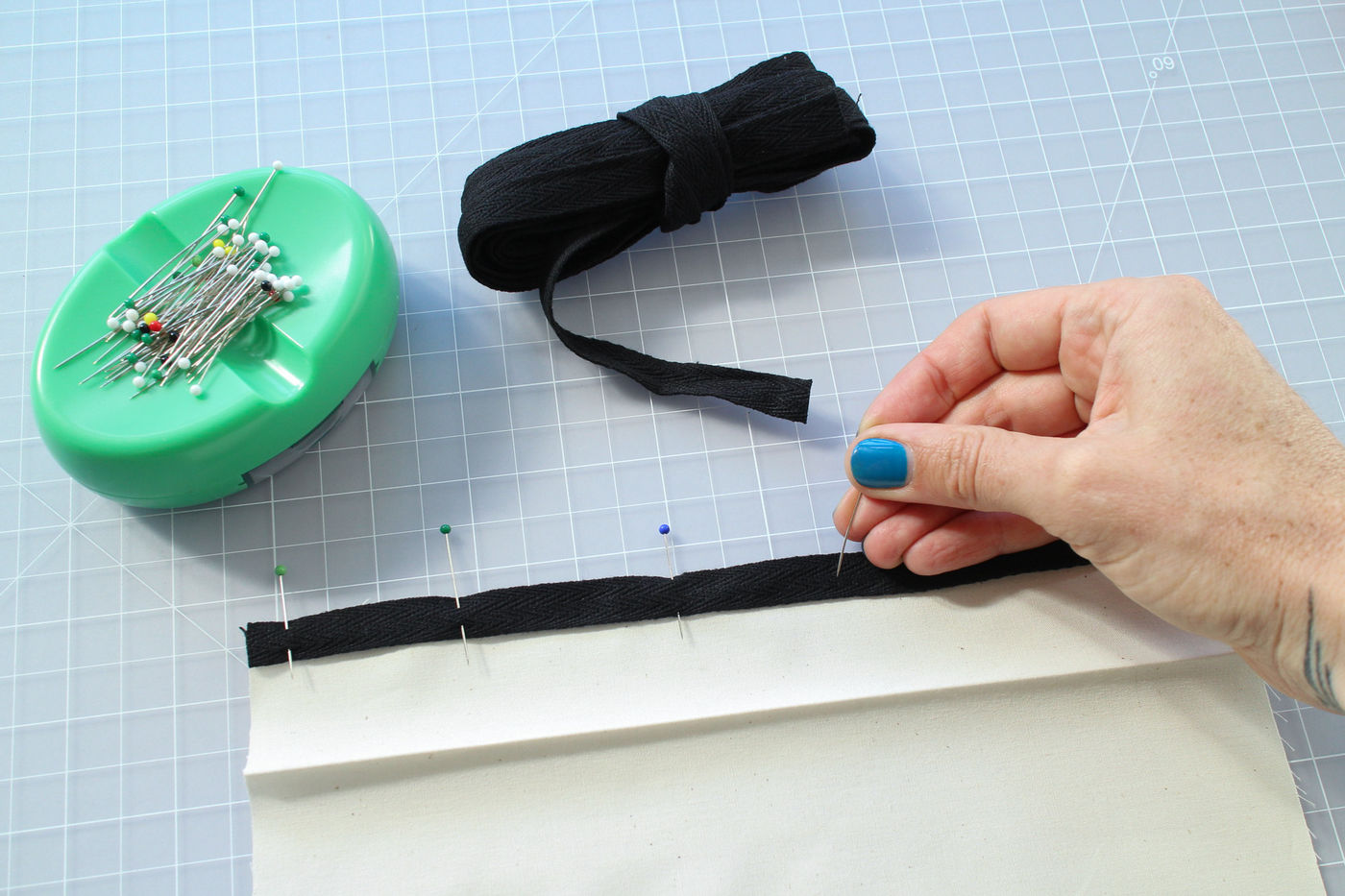 Hemming With Hem Tape or Twill Tape