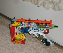 knex oddammo pistol w/slide and removable mag by knexfreak95