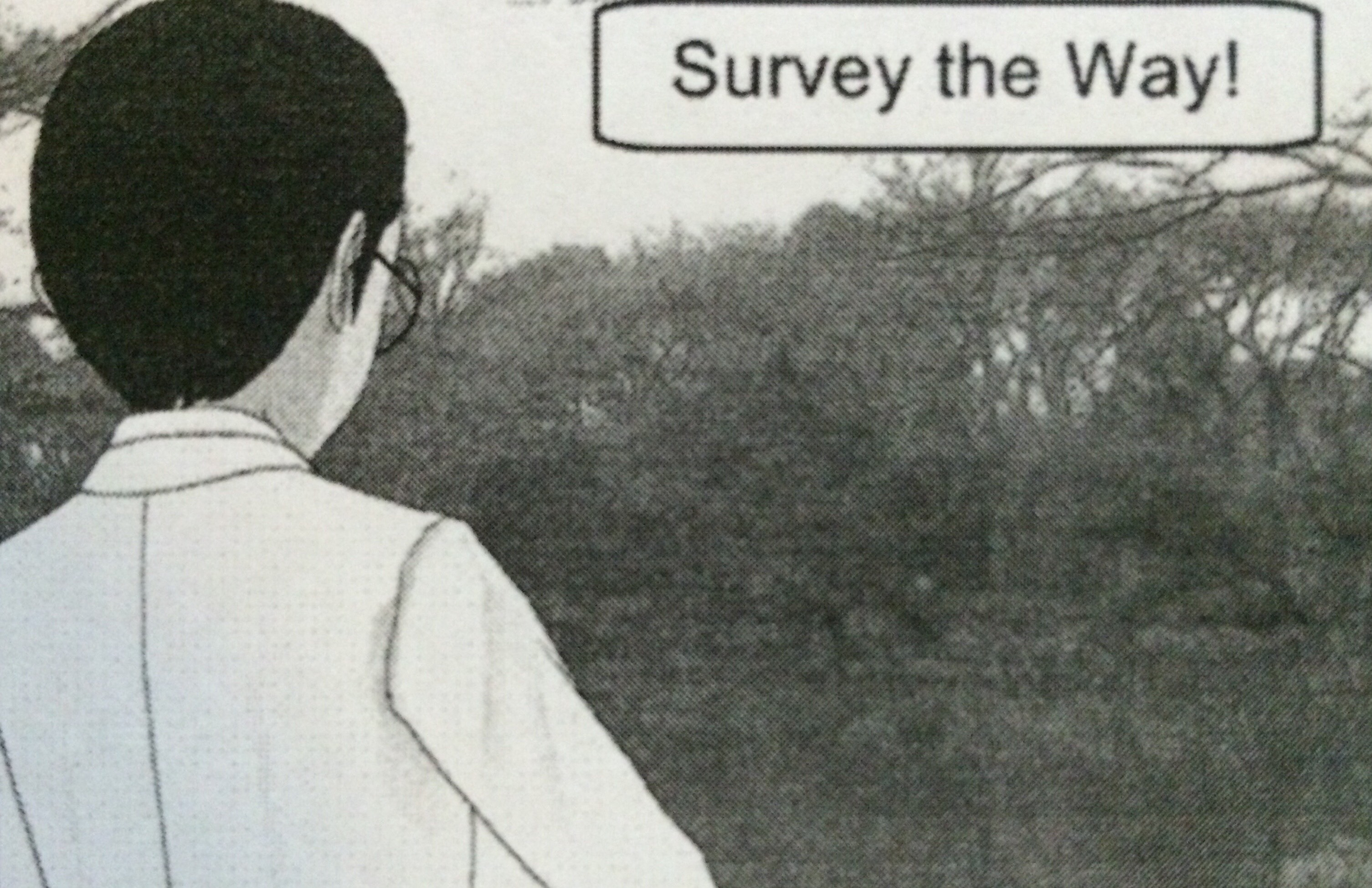 Picture of Survey the Route, Expect Others to Do the Same