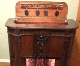 1933 Philco Radio Wine Bar