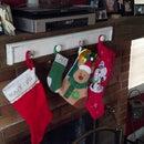 DIY: Christmas Stocking Holder