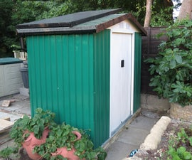 Solar Shed - One Year Later