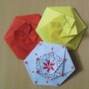 Origami Hexagonal Envelope/Pouch