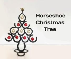 Horseshoe Christmas Tree