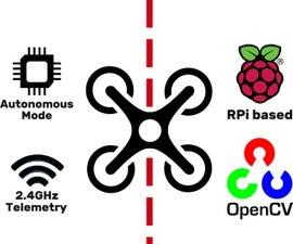 Autonomous Line Follower Drone With Raspberry Pi