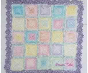 Crochet Pastel Baby Blanket