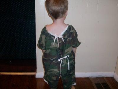 Children's Hospital Gown