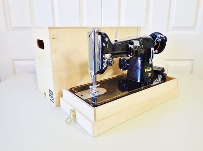 How to Make a Custom Sewing Machine Case