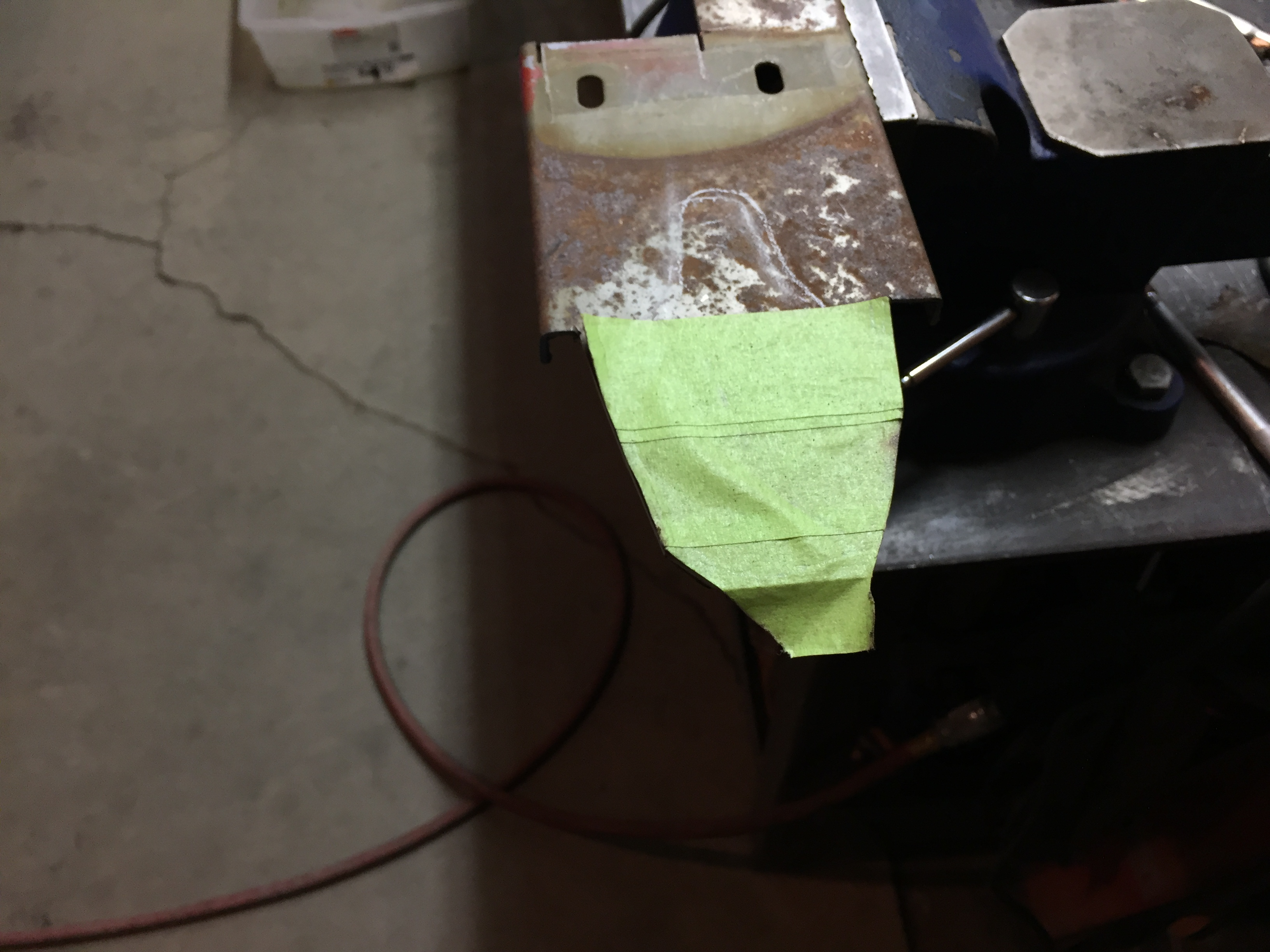 Picture of Make Template and Cut Out Replacement Piece