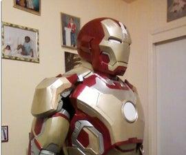 How to make a real iron man costume replica