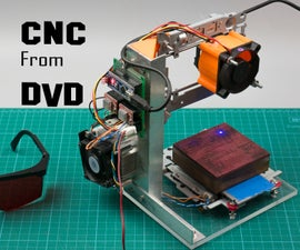 Arduino CNC Laser Enrgaver From DVD Drive