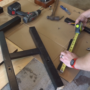 Making the Table Top Sides