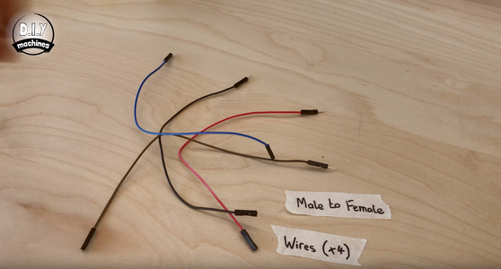 Solder (easy Again) Wires to the Motor Shield