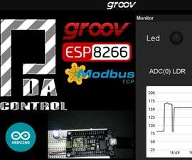 ESP8266 NodeMCU Connect to Groov IoT