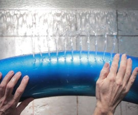 How to play Auld Lang Syne on hydraulophone (underwater pipe organ)