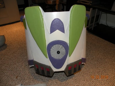 Buzz's Breast Plate