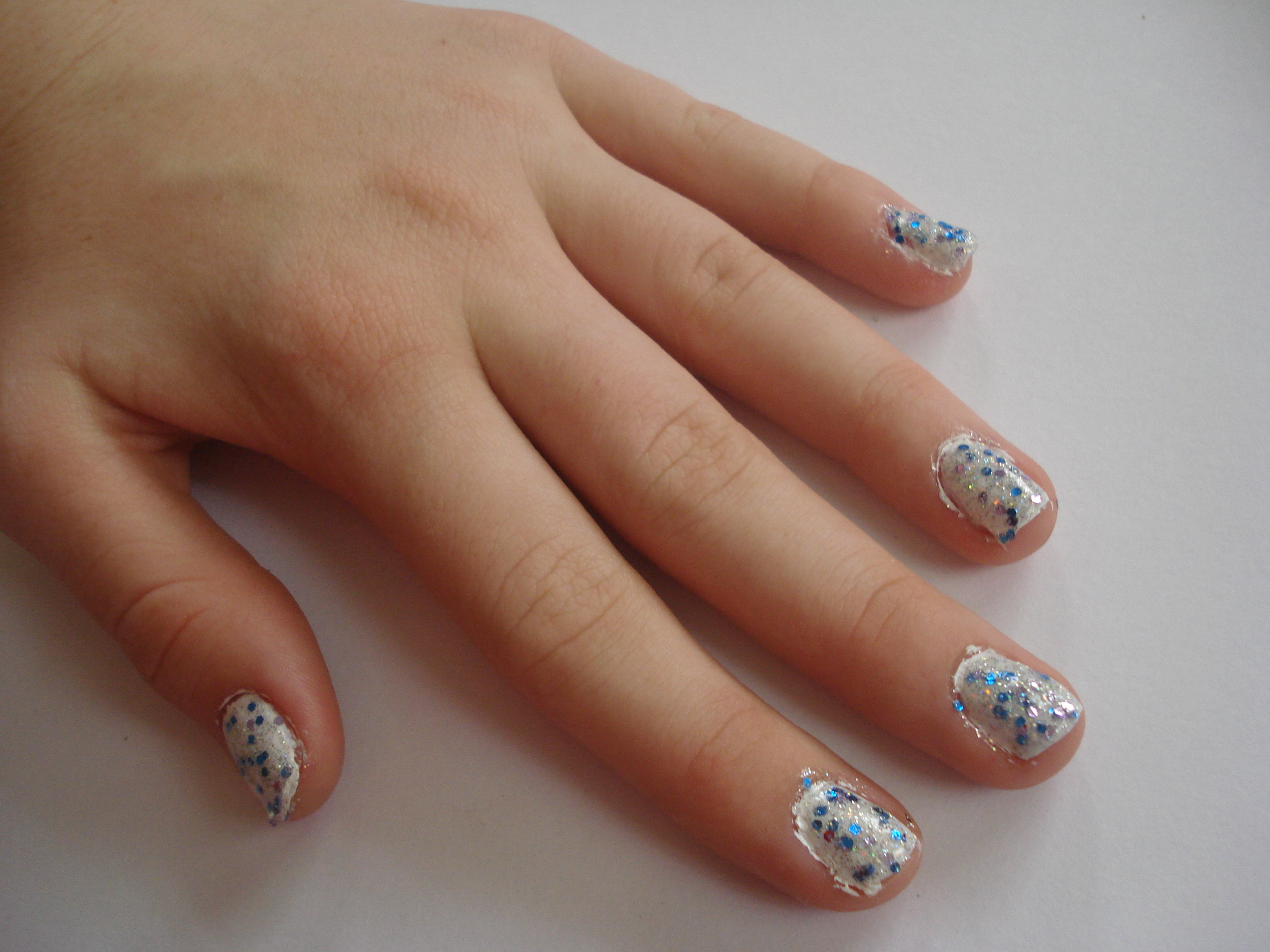 Picture of Sweet and Simple Winter Manicure