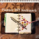 Reuse Plastic Box - make nice bookmark for Your planner