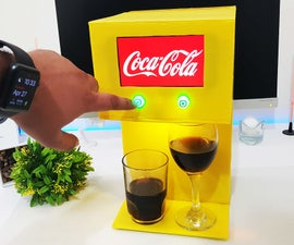 Make Coca Cola Soda Fountain Machine With 2 Drinks