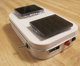 Altoids USB Battery/Solar charger for iPhone and iPod