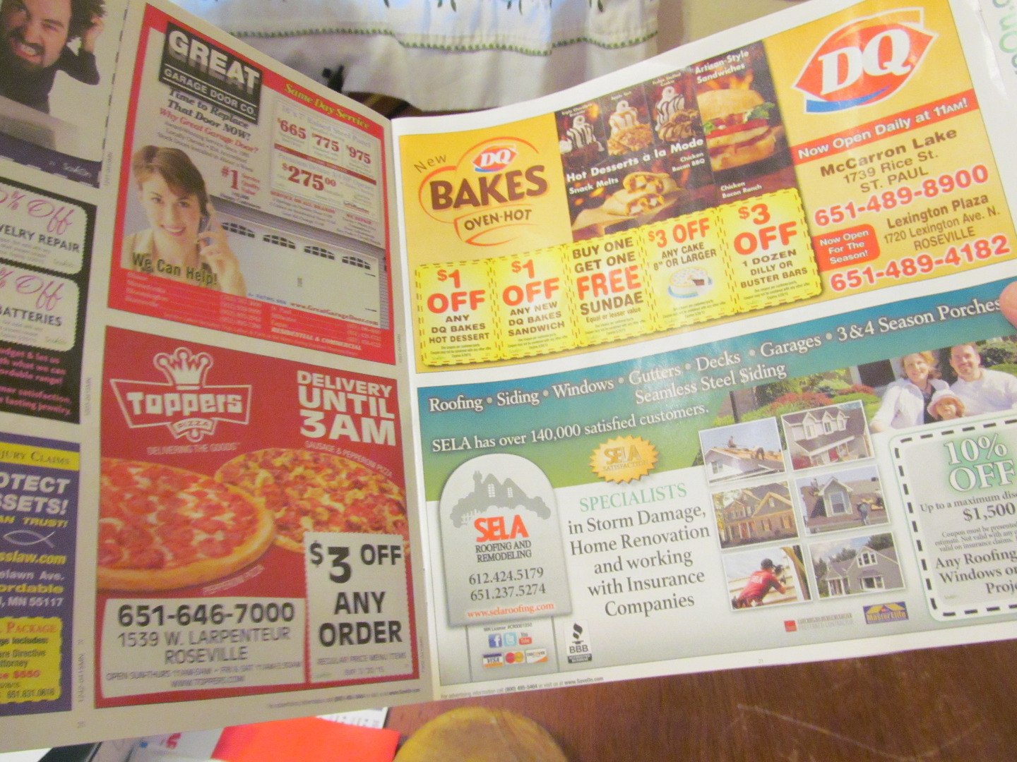 Picture of Magazine or Junk Mail Flyer.