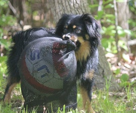 Life Hack: Soccer Ball Dog Toy