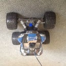 RC truck camera mount