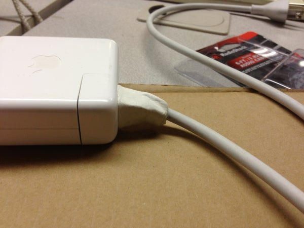 Fix Broken Power Cords With Sugru