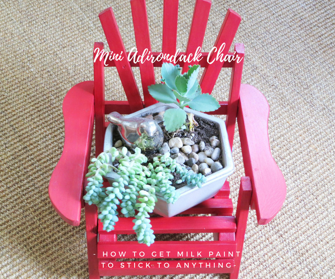 Picture of Use Your Milk Paint Stain to Create Faux Barn Board!