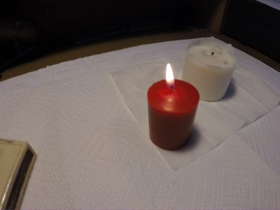 Lighting the Red Candle