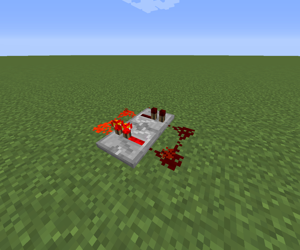 How To Make A Simple Redstone Timer 4 Steps Fulldownload Minecrafthowtomakearedstoneclockcircuit