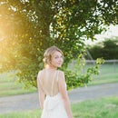DIY Silk Wedding Dress