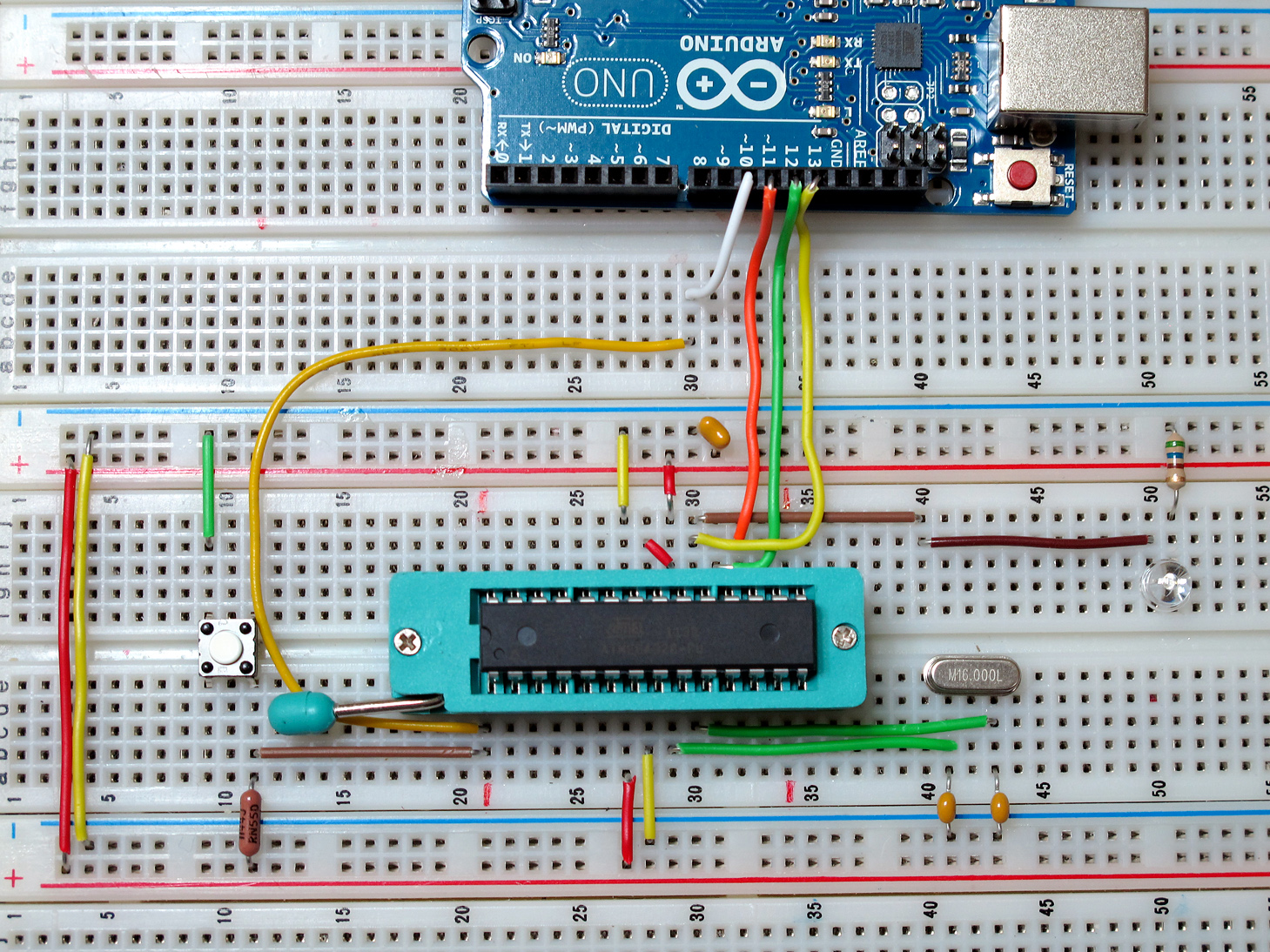Picture of Arrange All Components on Breadboard