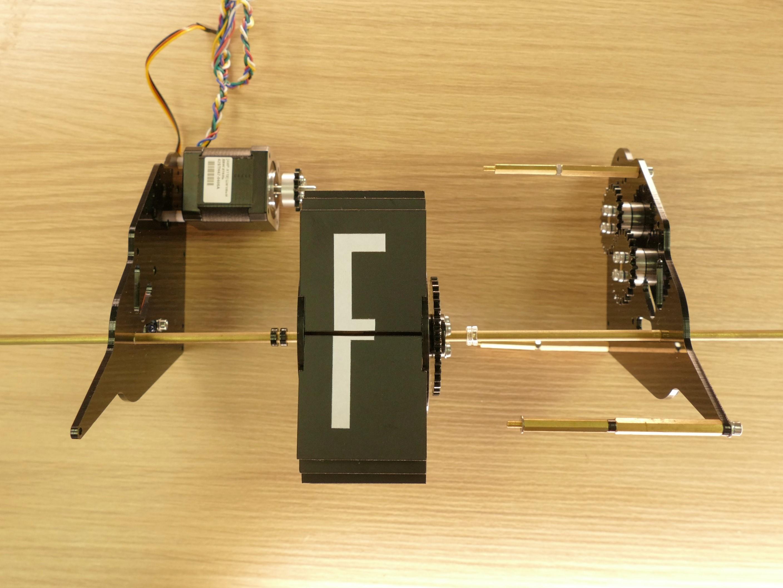 Picture of Mechanics. Assembling the Digit.