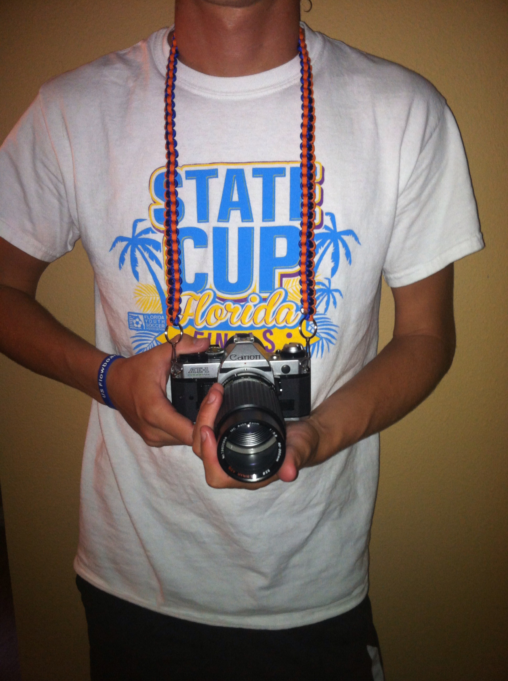 Picture of Paracord Camera Strap