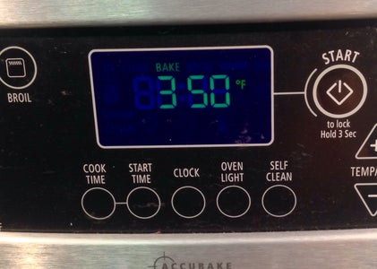 Step 1: Preheat Your Oven to 350*