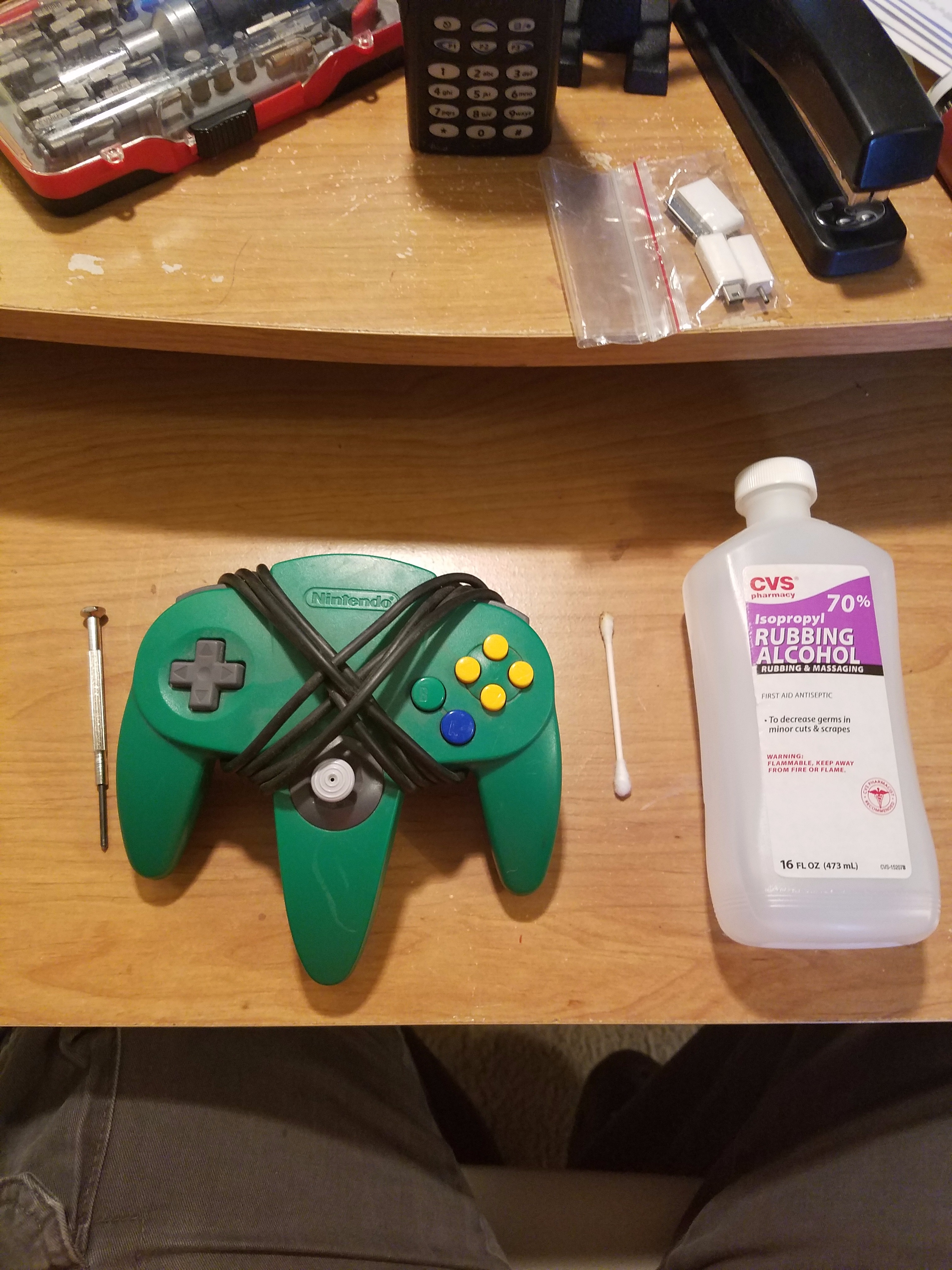 Picture of Restoring an N64 Nintendo 64 Controller