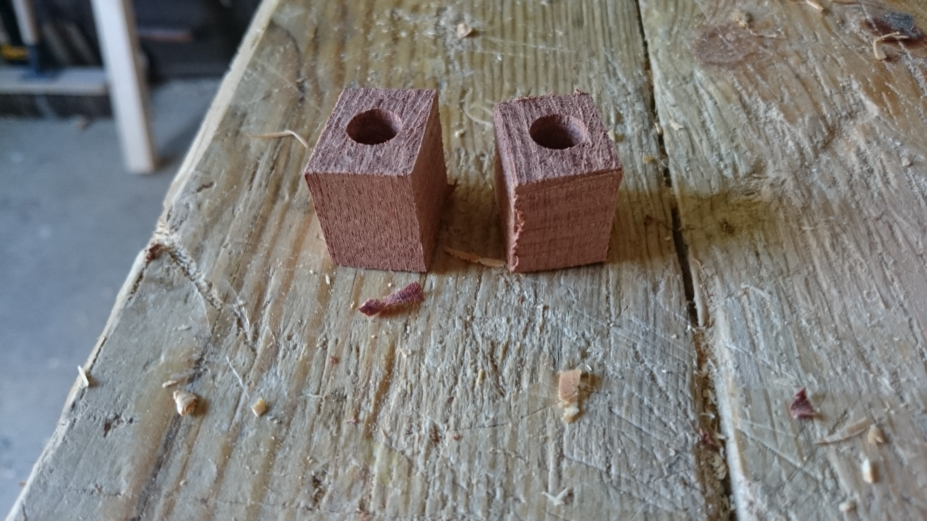 Picture of Shaping and Attaching the Pivot Point Knobs
