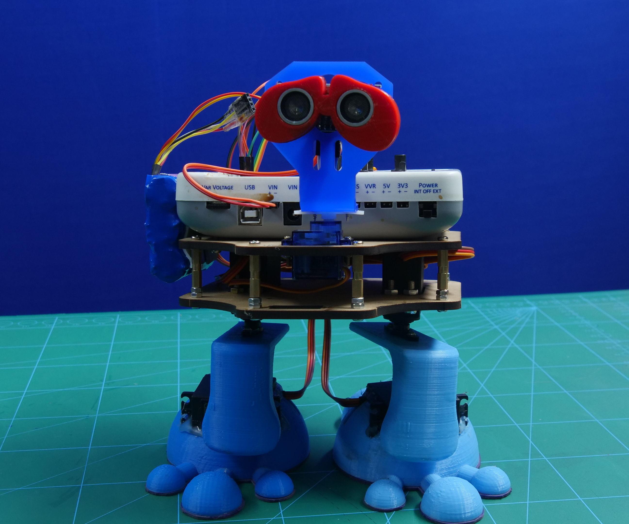 Autonomous Biped Robot Using Arduino Based Embedded Platform : 10