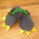 Make your Little Monster Some Slippers!